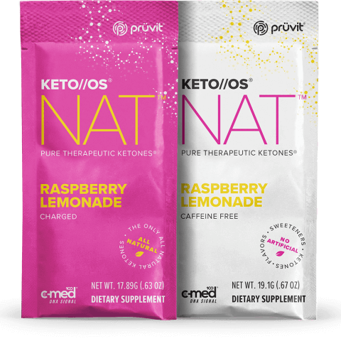 Keto OS MAX - Raspberry Lemonade - Ketones by Pruvit