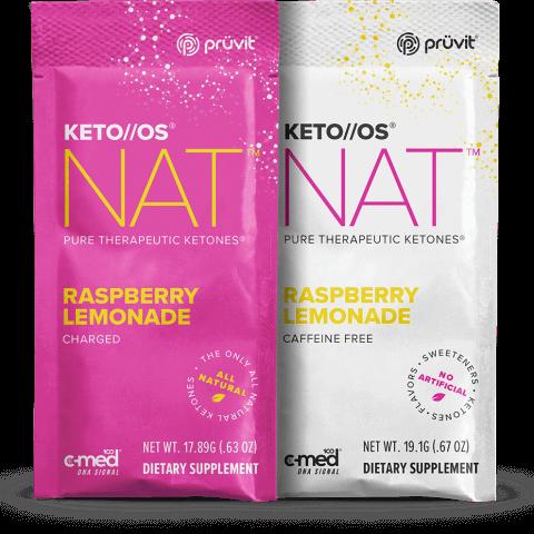 Keto OS MAX - Raspberry Lemonade - Ketones by Pruvit