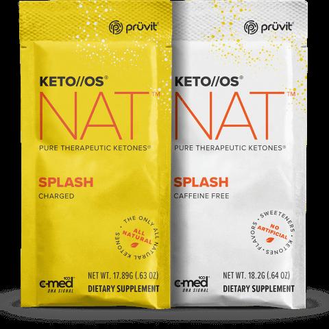 Keto OS MAX - Splash - Ketones by Pruvit