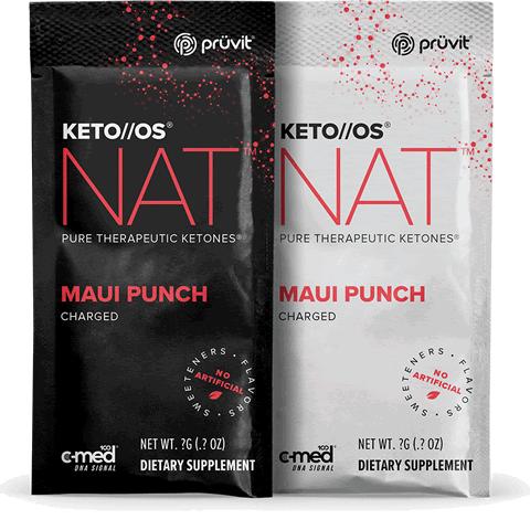 Keto OS MAX - Maui Punch - Ketones by Pruvit